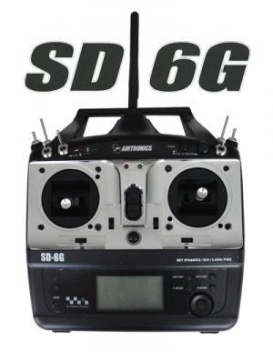 SD-6G   2.4GHz 6CH COMPUTER, AIRCRAFT, NoSxNoRxBat