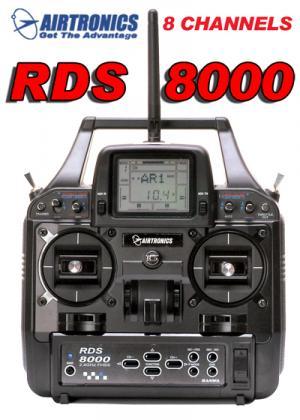 RDS8000 2.4GHz 8CH COMPUTER, AIRCRAFT, NoSxNoRxBat