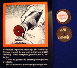 TUFGRIND -   1 INCH DISCS (SET OF 2)