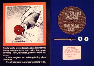 TUFGRIND -   2 INCH DISC AND MANDREL SET
