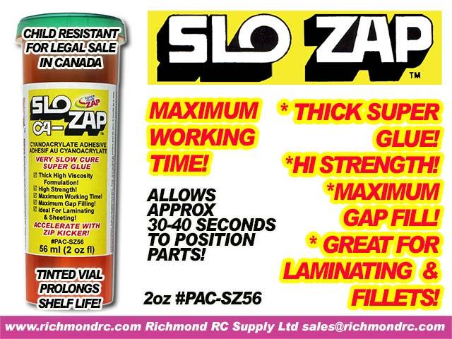 SLOW-ZAP    56  ml (2   oz) {pac-prices} [ 91107]