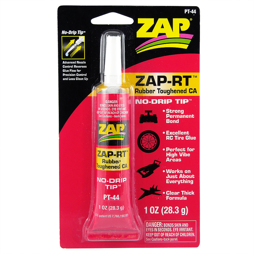 ZAP-RT RUBBER TOUGHENED CA+ 1oz NOTCHILDPROOF PT44 {pac-prices} [100101]