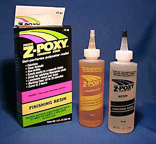 PACER Z-POXY FINISHING RESIN - 354ml 12oz SET PT40 {pac-prices} [112107]