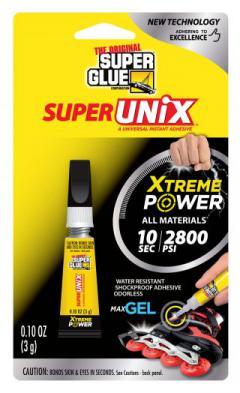 SUPER UNIX XTREME POWER CA+++ GEL 3ml NOTFORCHILD {pac-prices}