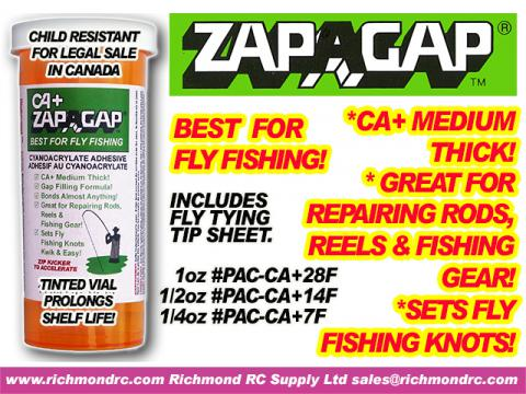 ZAP-A-GAP FOR FISHING - 28 ml (1  oz) {pac-prices}