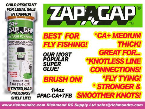 ZAP-A-GAP FOR FISHING BRUSH ON 7 ml (1/4 oz) {pac-prices}
