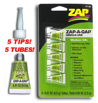 ZAP-A-GAP  5 SINGLE USE .5ml NOT CHILD PROOF PT105 {pac-prices} [108076]