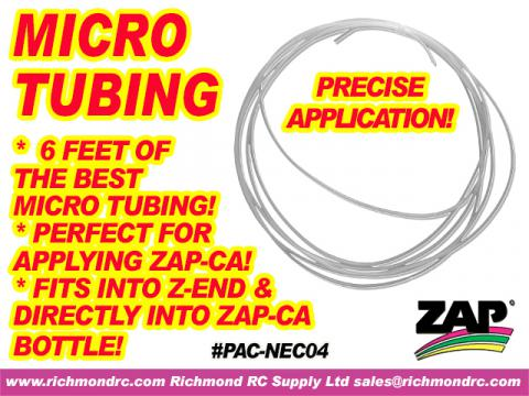 6 FEET OF SUPER GLUE MICRO TUBING - THE BEST MADE {pac-prices}
