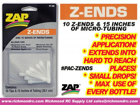 Z-END DISPENSING TIPS/TUBES                  PT-18 {pac-prices}