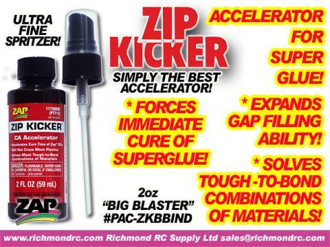 ZIP KICKER BIG BLASTER - NOT CHILD PROOF    PT-715 {pac-prices} [ 72210]