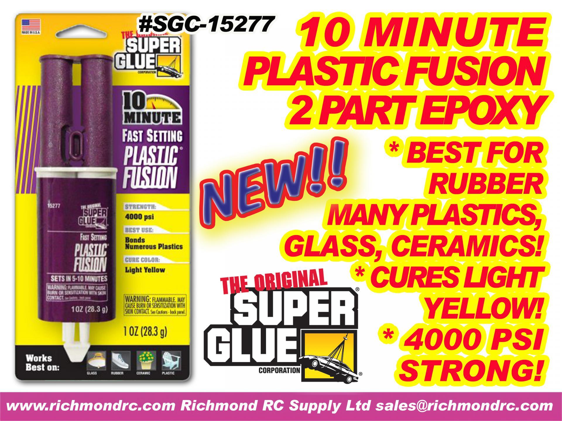 SUPER GLUE CORP - 10 MINUT PLASTC EPOXY SYRNG 28ml {pac-prices}