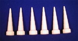 APPLICATOR SCREW ON TIPS - SILICONE 3oz TUBES (6) {pac-prices}