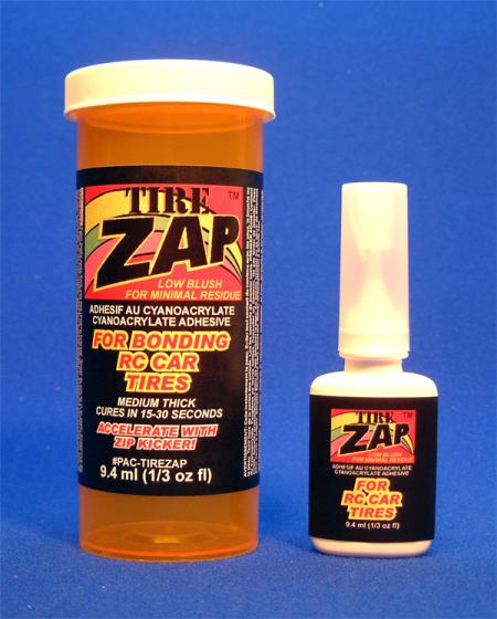 TIREZAP  9.4 ml (1/3 oz) - FOR BONDING RC TIRES {pac-prices}