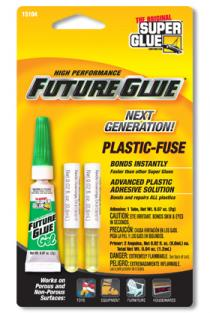 SUPER GLUE CORP - PLASTIC-FUSE TUBE 2ml NOT4CHILD