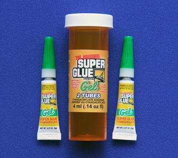 SUPER GLUE CORP - CA+++ GEL 2 TUBES 2ml .07oz