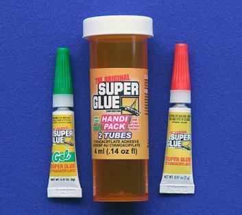 SUPER GLUE CORP - HANDI PACK CA&GEL 2ml .07oz EA