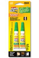 SUPER GLUE CORP - CYANO GEL 2 TUBE 2ml - NOT4CHILD