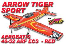 VMAR ARROW TIGER 46-52 ARF ECS SPORT AEROBATIC RED