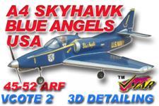 VMAR A4 SKYHAWK 45-52 JET (PROP) ARF 3DS BLUEANGEL