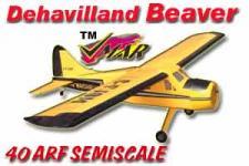 VMAR BEAVER 45-60 SEMISCALE ARF ECS - YELLOW