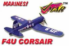VMAR F4U CORSAIR 60 SEMI SCALE ECS ARF -US MARINES