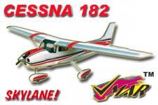 VMAR CESSNA 182 45-60 SEMISCALE ARF ECS - RED
