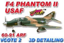 VMAR F4 PHANTOM II 60-91 JET (PROP) ARF 3DS - USAF