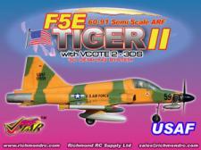 VMAR F5E TIGER II 60-91 JET (PROP) ARF 3DS - CAMO