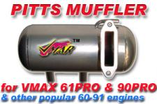 VMAR PITTS IN COWL MUFFLER VMAX 60,76,91 (THREADD)