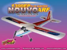 VMAR NOUVO 1300 EP ARF ECS - 51in ELECTRIC - RED