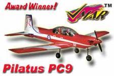 VMAR PILATUS PC9 45-60 SEMISCALE ARF - AUSTRALIAN