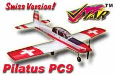 VMAR PILATUS PC9 90+ ARF RETRACT READY - SWISS