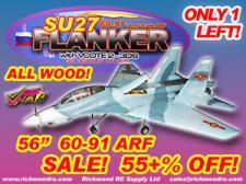 VMAR SU27 FLANKER 60-91 JET (PROP) ARF 3DS - VNPAF