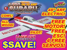 VMAR AERO SUBARU 06-15 ARF ECS ELECT & GLOW - RED