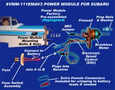 VMAX 11.1 VOLT POWER MODULE FOR SUBARU 06-15 ARF