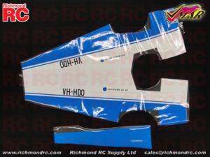 VMAR FOURNIER RF4D 2000 ARF ECS - COVER FUSE - BLU