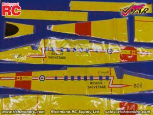 VMAR TWIN OTTER 09-15 ARF ECS - COVR FUSE CDN YELO