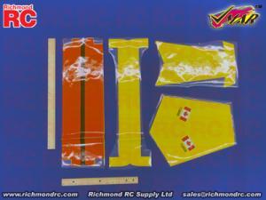 VMAR TWIN OTTER 09-15 ARF ECS - COVR TAIL CDN YELO