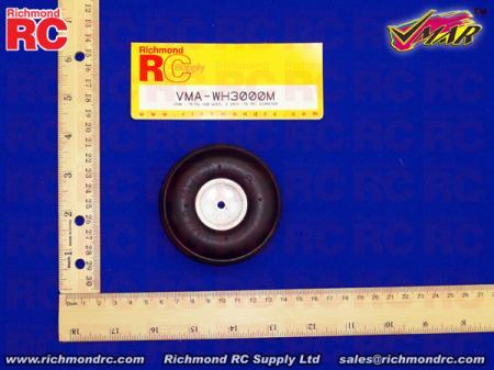 VMAR - METAL HUB WHEEL 3 INCH (76MM) DIAMETER