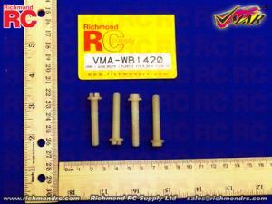 VMAR - WING BOLTS - PLASTIC 1/4 X 20 X 1/1/4 (4)