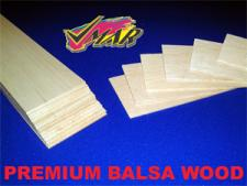 BALSA WOOD 3 x 1/4  x 36 PREMIUM (VW.10.0141)